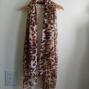 Fab Animal Print Wrap or Scarf with Sequins